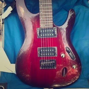 Ibanez bass guitar, used for sale